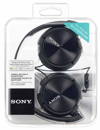 Sony MDRZX310AP, Casti Supraauriculare ideale pentru Smartphone1