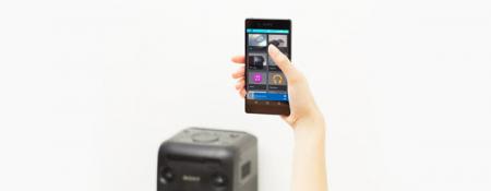 Sistem Audio Sony MHCV11, Bluetooth, NFC, Mega Bass şi efecte de sunet de DJ2