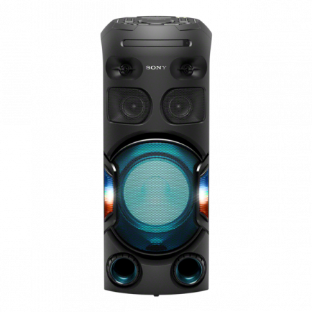 Sistem audio High Power Sony MHCV42D, Jet Bass Booster, Hi-Fi, Bluetooth, NFC, Dj Effects, USB, DVD, Party music, Party lights