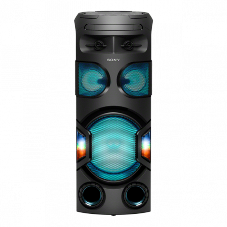 Sistem audio High Power Sony MHCV72D, Sunet 360grade, Hi-Fi, Bluetooth, NFC, Dj Effects, USB, DVD, Party music, Party lights
