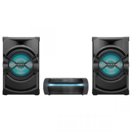 Sony SHAKEX30PN, Sistem Audio de mare putere cu DVD, Bluetooth cu LDAC, Efecte DJ, Functie Karaoke, NFC, BLACK