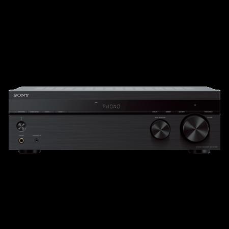Sony STRDH190, Receptor stereo cu intrare Phono și conectivitate Bluetooth, Negru0