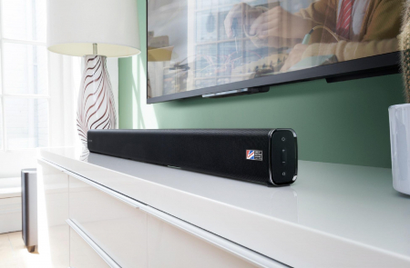 Soundbar Cambridge Audio TVB2-V2,  Subwoofer Wireless, Bluetooth si NFC, 120 W2