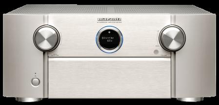 Receiver 9.2 Marantz SR7015, Ultra HD 8K, Dolby Atmos, DTS:X, Auro3D, eARC, IMAX Enhanced, HEOS