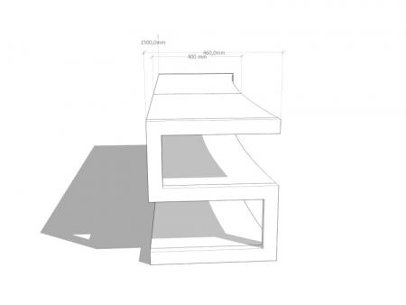 Stand AV Norstone Esse Curve [3]