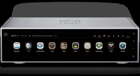 Streamer cu DAC si Preamplificator HiFi Rose RS150B