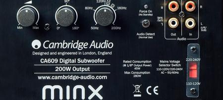 Subwoofer Cambridge Audio Minx X2011