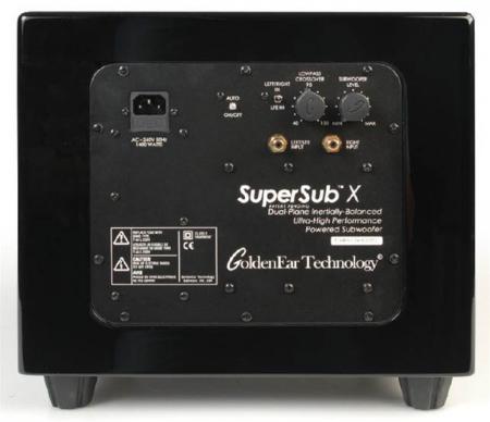 Subwoofer GoldenEar SuperSub X, 12Hz-250Hz, 1400W4