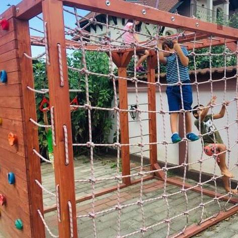 Complex de cățărare pentru copii, Junior Ninja Warrior [0]