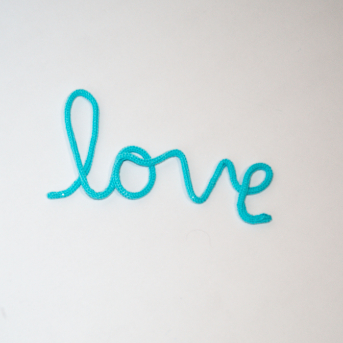 "Decor Perete ""love"" 0"