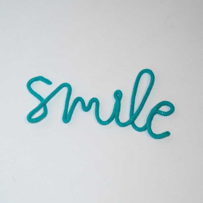 """Decor Perete """"smile"""" 1"""
