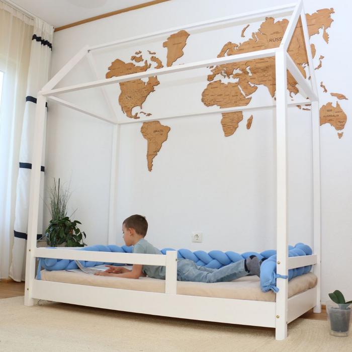 Pat pentru Copii My World, 180 x 90 cm 0