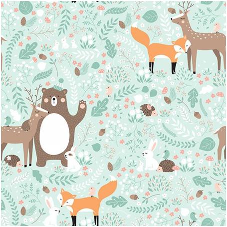 Set 2 Piese, Animale din pădure [3]