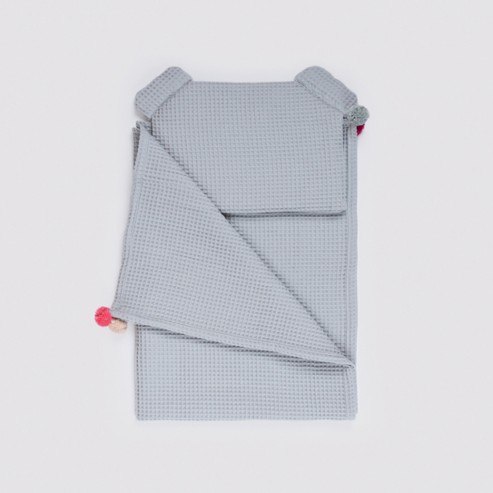 Set Pătură & Pernă, Gri 5