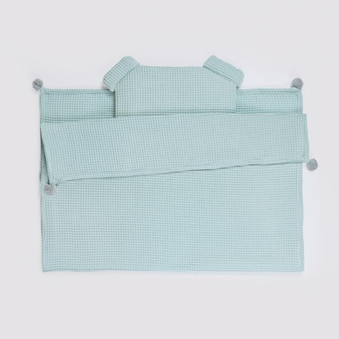 Set Pătură & Pernă, Mentă 0