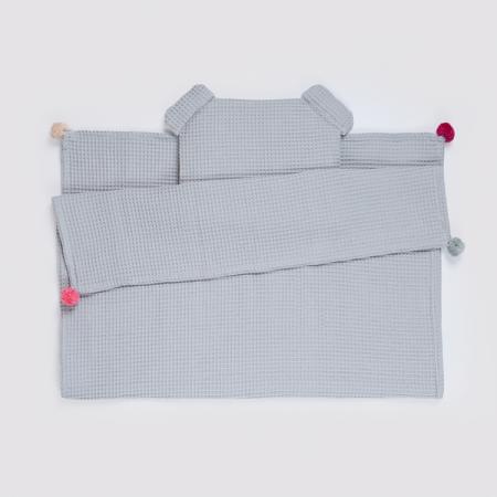 Set Pătură & Pernă, Gri0