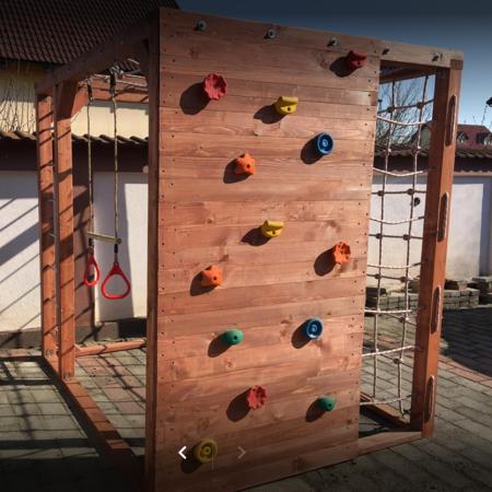 Complex de cățărare pentru copii, Junior Ninja Warrior [3]