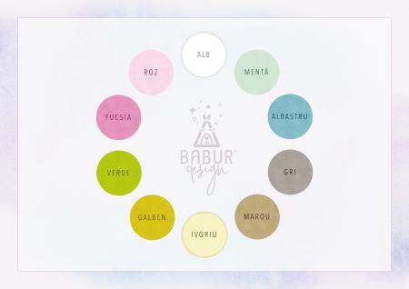 Personalizează TU, 2 Culori, Protecție Pat Catifea3