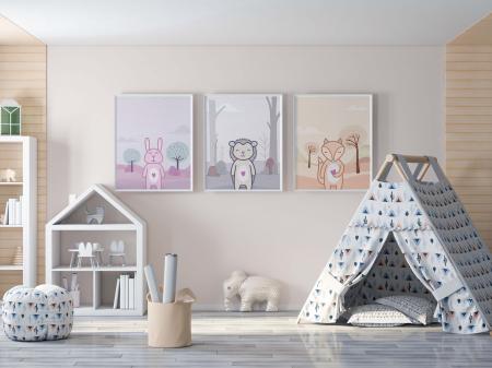 Poster Camera Bebe & Copii, Model Cerb [1]