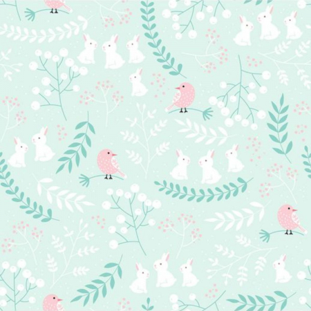 Set 2 Piese, Pasăre Roz [2]