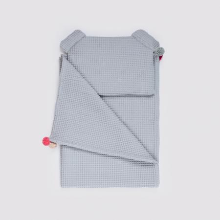 Set Pătură & Pernă, Gri5