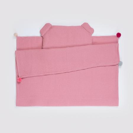 Set Pătură & Pernă, Roz0