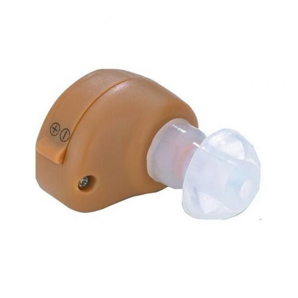 Amplificator de sunet GreatEars™ G10 Premium , cu baterii , autonomie pana la 280h, 130 dB, 3 accesorii, pentru adulti , crem 0