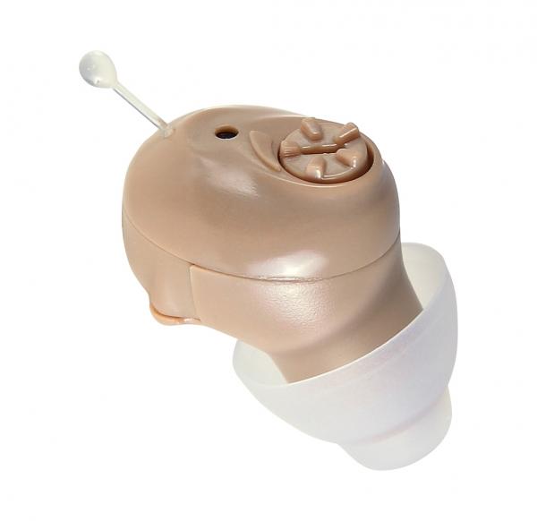 Amplificator de sunet GreatEars™ G16d Digital Mini Premium , cu baterii , autonomie pana la 200h, 120 dB, 3 accesorii, pentru adulti , crem 0