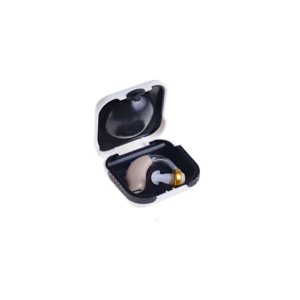 Amplificator de sunet GreatEars™ G21 Mini Premium , cu baterie, autonomie pana la 280ore, 128 dB , 3 accesorii, pentru adulti 1