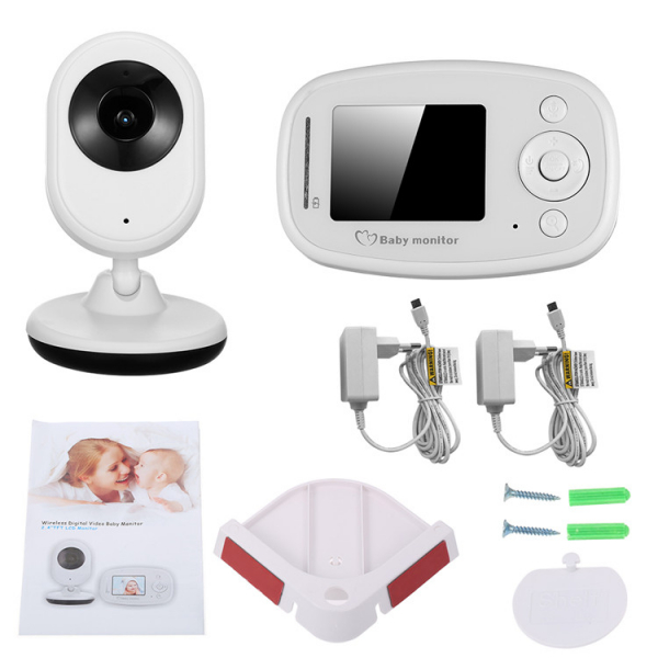 Baby Monitor Wireless BabyToy™ SP820 Plus , Monitorizare Video Audio Bebelusi , Monitorizare Temperatura , Vedere Nocturna, Audio-Video, Sunet bidirectional, Functie Push to Talk, Detectare miscare ,  5