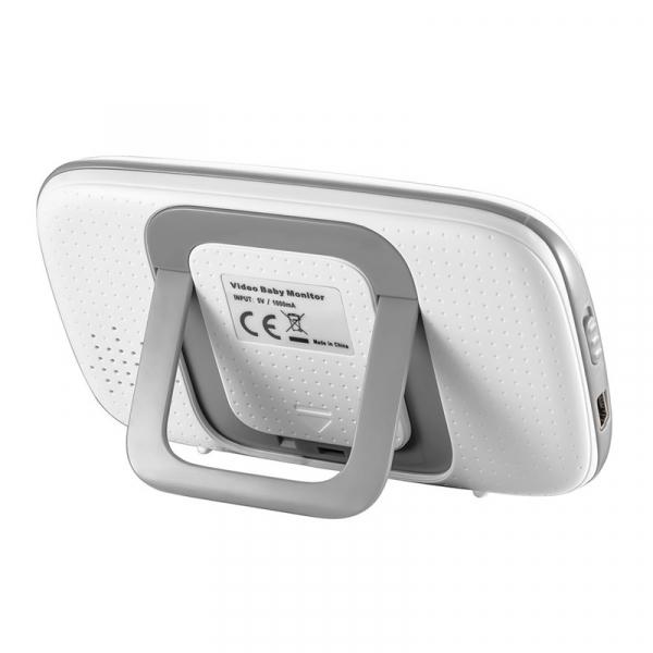 Baby Monitor Wireless BabyToy™ VB603 Plus , 3.2 inchi,Monitorizare Video Audio Bebelusi , Monitorizare Temperatura , Vedere Nocturna, Audio-Video, Sunet bidirectional, Functie Push to Talk, 8 Cantec 3