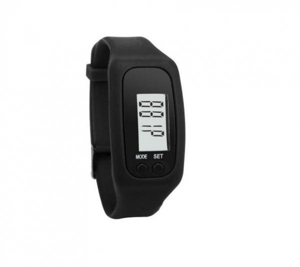 Bratara fitness MoreFIT™ B33 , Ecran LCD , monitorizare dinamica plus, pedometru, numerotare pasi, auto sleep, detectare primul pas jogging , neagru 0