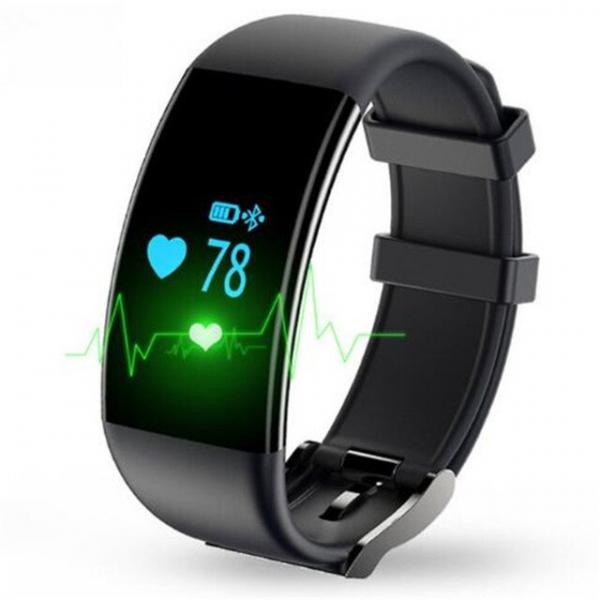 Bratara fitness MoreFIT™ D21, BT 4.0, Pedometru, Puls, Tensiune, Nivel oboseala, Monitorizare somn, Calendar, Notificari apeluri, Stand-by 15 zile, Android, iOS, Notificari, Remote camera, Negru 0
