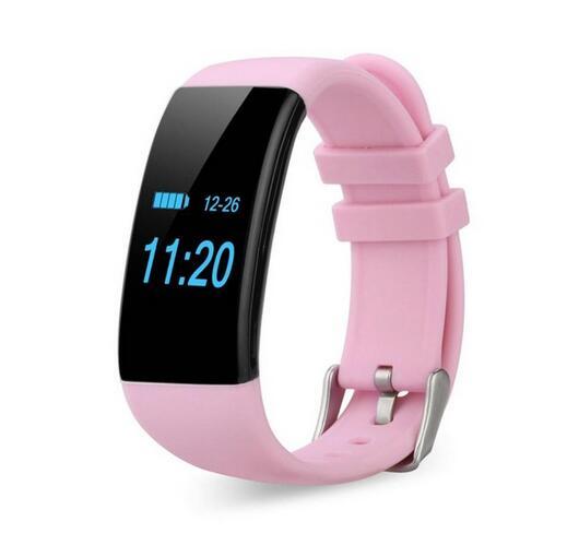 Bratara fitness MoreFIT™ D21, BT 4.0, Pedometru, Puls, Tensiune, Nivel oboseala, Monitorizare somn, Calendar, Notificari apeluri, Stand-by 15 zile, Android, iOS, Notificari, Remote camera, Roz 0