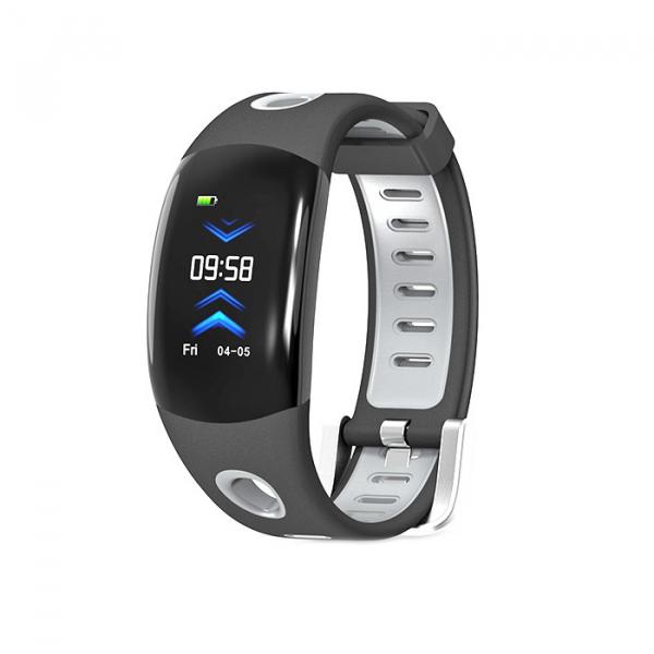 Bratara fitness MoreFIT™ DM11, ecran color 3D curbat, IP68, puls dinamic Bosch, management somn, stand by 10 zile, notificari, negru 0