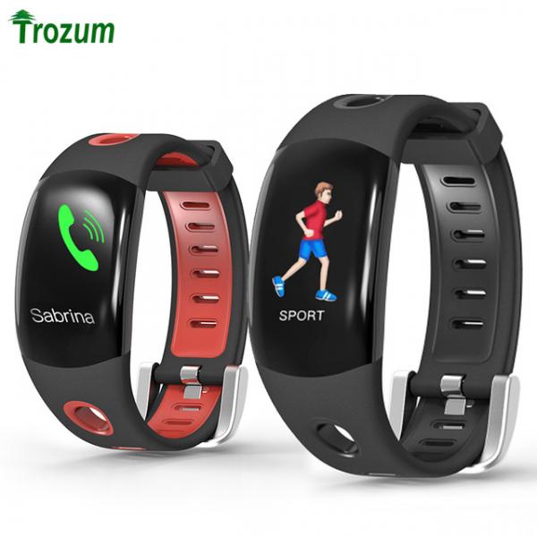 Bratara fitness MoreFIT™ DM11, ecran color 3D curbat, IP68, puls dinamic Bosch, management somn, stand by 10 zile, notificari, rosu 2