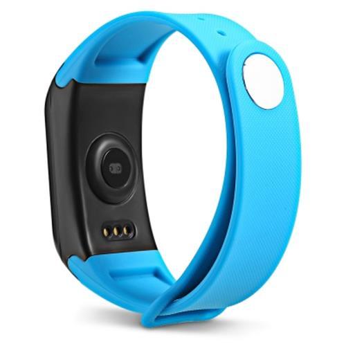 Bratara fitness MoreFIT™ F1 Pro , BT 4.0, rezistenta la apa, puls, nivel oxigen, tensiune, Android, iOS, intrare apeluri, vibratii, albastru 2