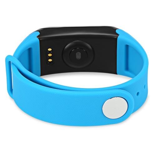 Bratara fitness MoreFIT™ F1 Pro , BT 4.0, rezistenta la apa, puls, nivel oxigen, tensiune, Android, iOS, intrare apeluri, vibratii, albastru 1