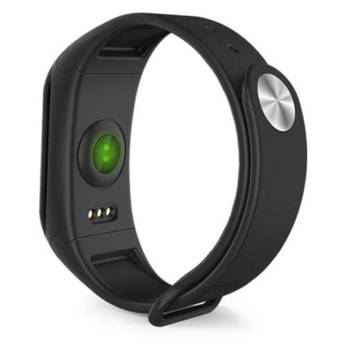 Bratara fitness MoreFIT™ F1 Pro , BT 4.0, rezistenta la apa, puls, nivel oxigen, tensiune, Android, iOS, intrare apeluri, vibratii, negru. [4]