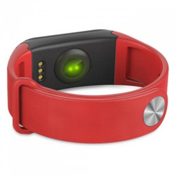 Bratara fitness MoreFIT™ F1 Pro , BT 4.0, rezistenta la apa, puls, nivel oxigen, tensiune, Android, iOS, intrare apeluri, vibratii, rosu [3]
