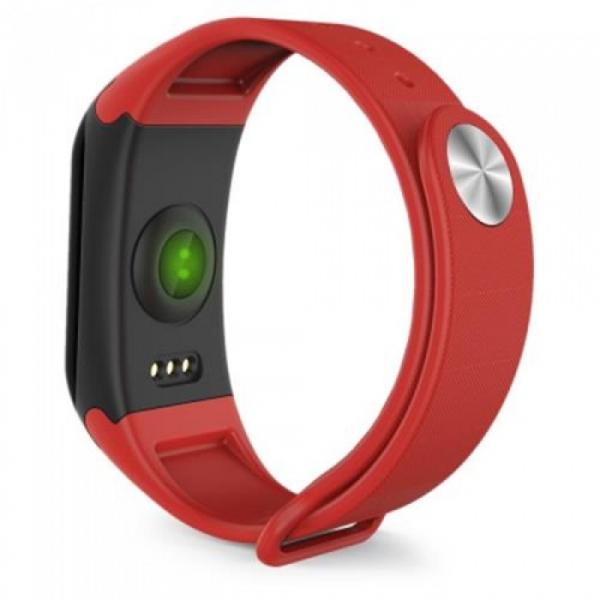 Bratara fitness MoreFIT™ F1 Pro , BT 4.0, rezistenta la apa, puls, nivel oxigen, tensiune, Android, iOS, intrare apeluri, vibratii, rosu [2]