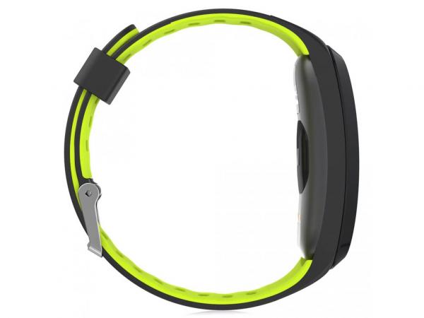 Bratara fitness MoreFIT™ F4 Pro Plus, IP68 submersibila, puls dinamic, tensiune, vremea, altitudine, UV index, Android, iOS, notificari, negru/verde [4]