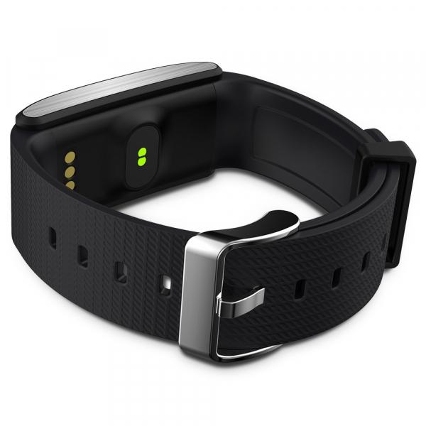 Bratara fitness MoreFIT™ FitGear A58 Plus,  BT 4.0, puls, tensiune, oxigen, nivel oboseala, stand-by 20 zile, Android, iOS, notificari, remote camera 1