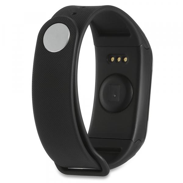 Bratara fitness MoreFIT™ H10 Plus GetFit 3.0, BT 4.0, rezistenta la apa, monitorizare puls, nivel oxigen sange, Android, iOS, intrare apeluri, vibratii, negru 3