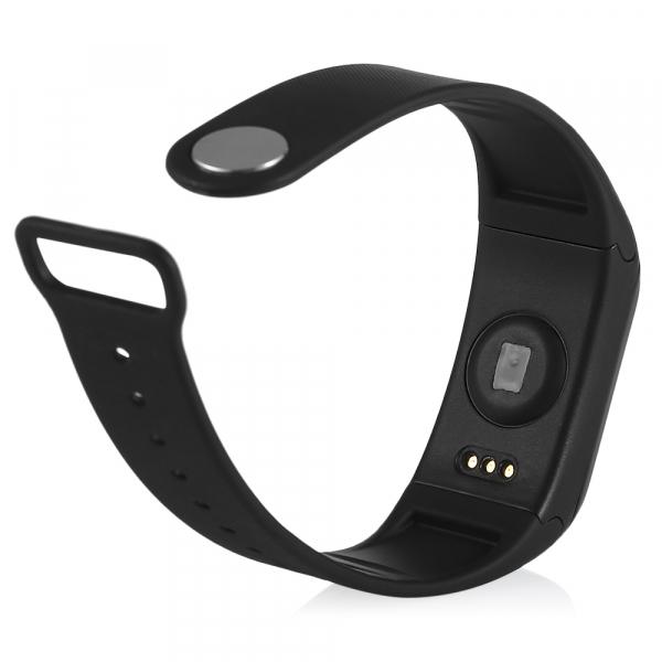 Bratara fitness MoreFIT™ H10 Plus GetFit 3.0, BT 4.0, rezistenta la apa, monitorizare puls, nivel oxigen sange, Android, iOS, intrare apeluri, vibratii, negru 2
