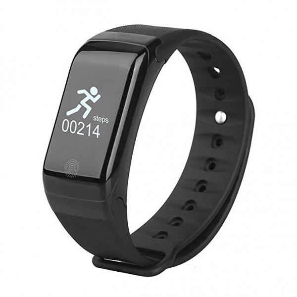 Bratara fitness MoreFIT™ H10 Plus GetFit 3.0, BT 4.0, rezistenta la apa, monitorizare puls, nivel oxigen sange, Android, iOS, intrare apeluri, vibratii, negru 0