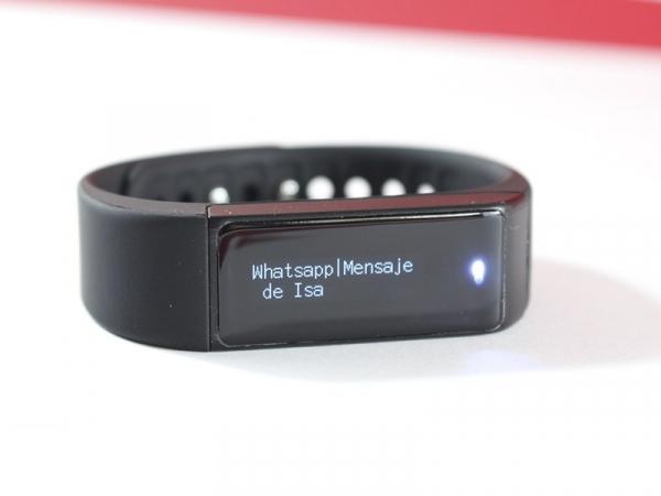 Bratara fitness MoreFIT™ i5+ , BT 4.0 , rezistenta la apa IP65, notificare sedentarism , apeluri ,sms si aplicatii, Android, iOS, vibratii, negru 4