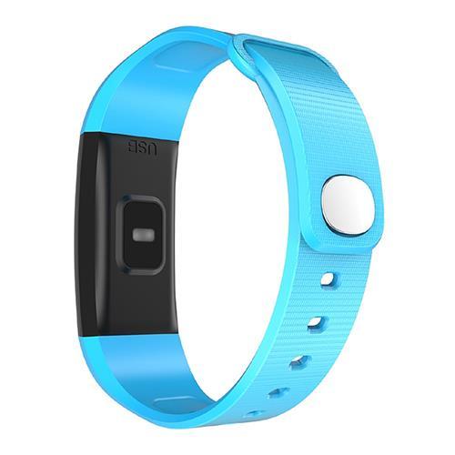 Bratara fitness MoreFIT™ i9, BT 4.0, Puls, Tensiune, Nivel Oboseala, Pedometru, Calorii, Distanta, Monitorizare Somn, Rezistenta la Apa IP68, Android, iOS, Notificari, Albastru [1]
