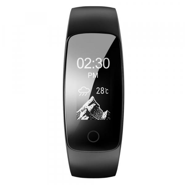 Bratara fitness MoreFIT™ ID107 HR Pro, GPS pentru alergat, alerta vreme , rezistenta la apa , monitorizare puls, notificari aplicatii, notificari apeluri si sms, respingere apel, control muzica telefo 2