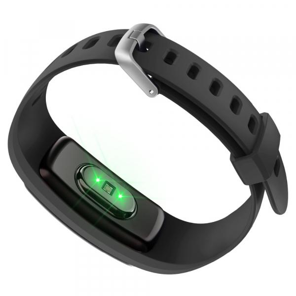 Bratara fitness MoreFIT™ ID107 HR Pro, GPS pentru alergat, alerta vreme , rezistenta la apa , monitorizare puls, notificari aplicatii, notificari apeluri si sms, respingere apel, control muzica telefo 1